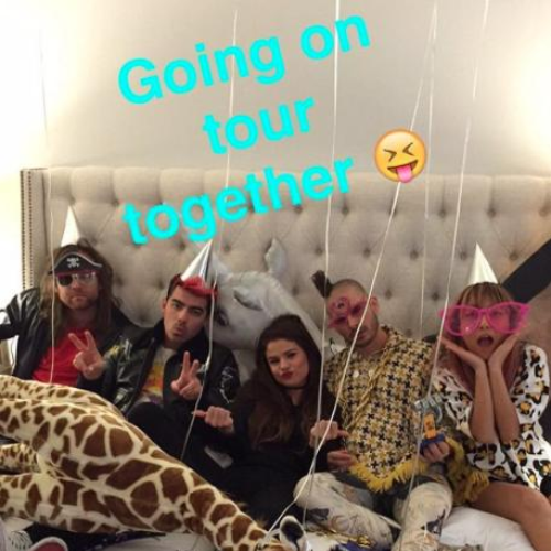 DNCE and Selena Gomez