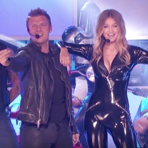 Gigi Hadid Taps Backstreet Boys for 'Lip Sync Battle'
