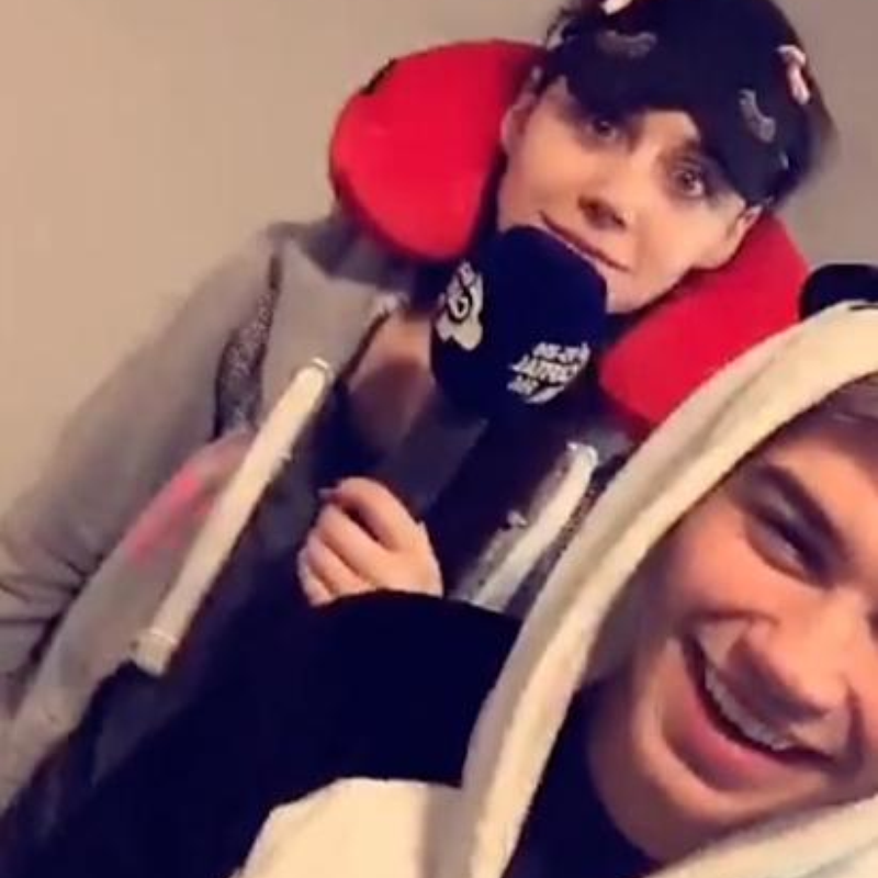 George Shelley And Lilah Parsons Hong Kong Snapchat