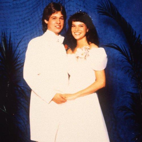 Brad Pitt school prom