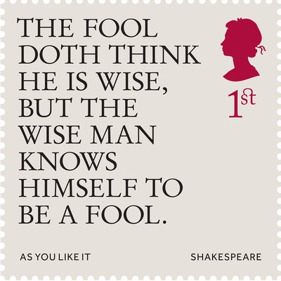 William Shakespeare Stamps
