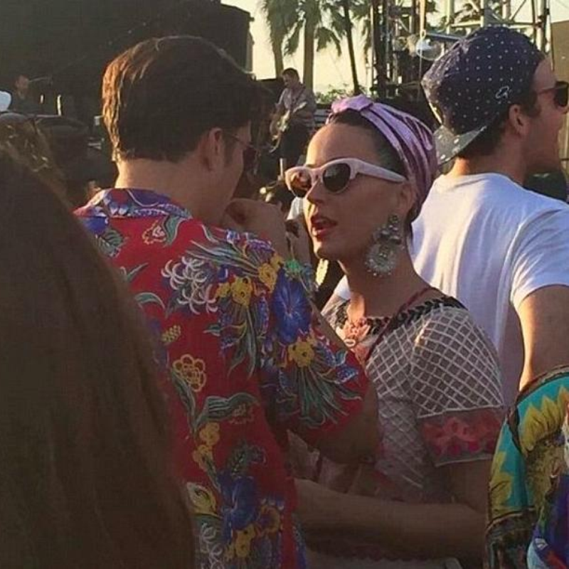 Katy Perry and Orlando Bloom Coachella