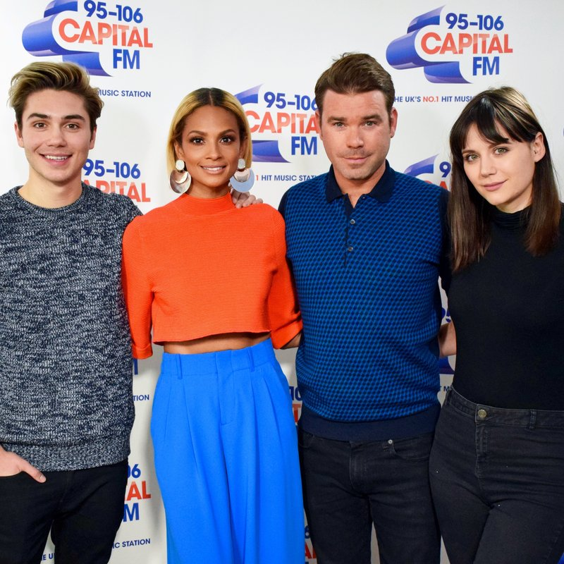 Alesha Dixon, Dave Berry, George and Lilah