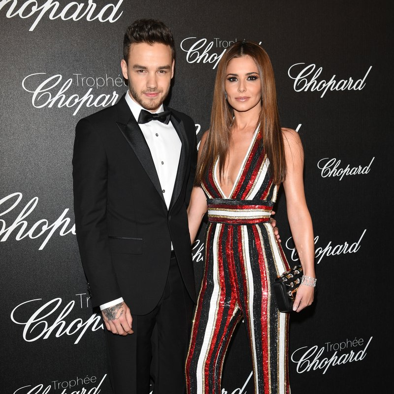 Liam Payne and Cheryl At Cannes Film Festival