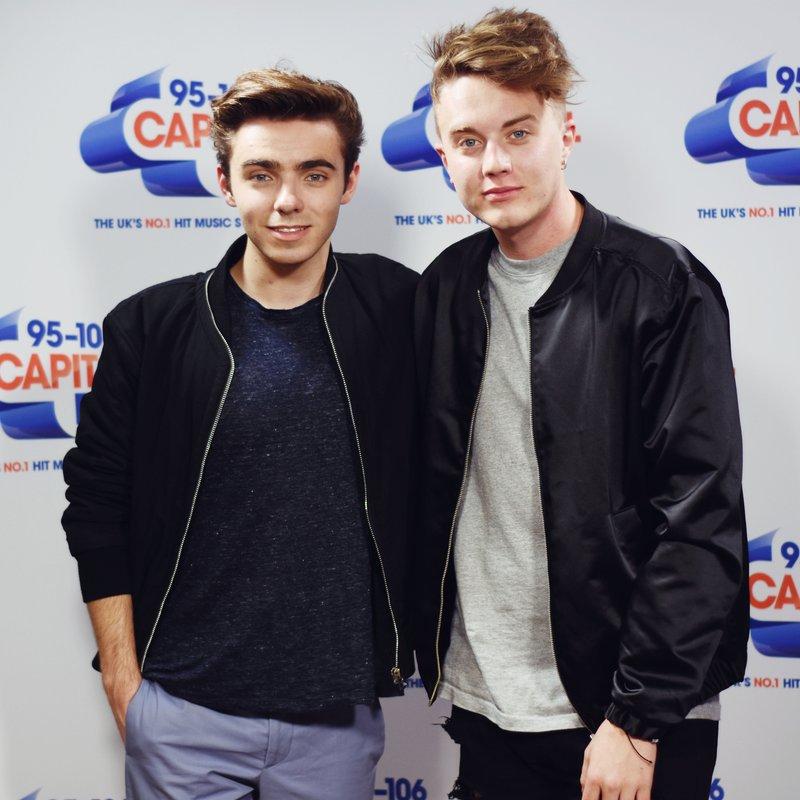 Nathan Sykes & Roman Kemp