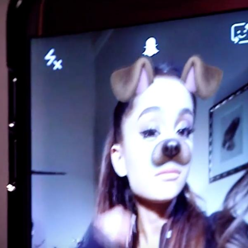 Ariana Grande's New Snapchat Horror Movie #DogFace