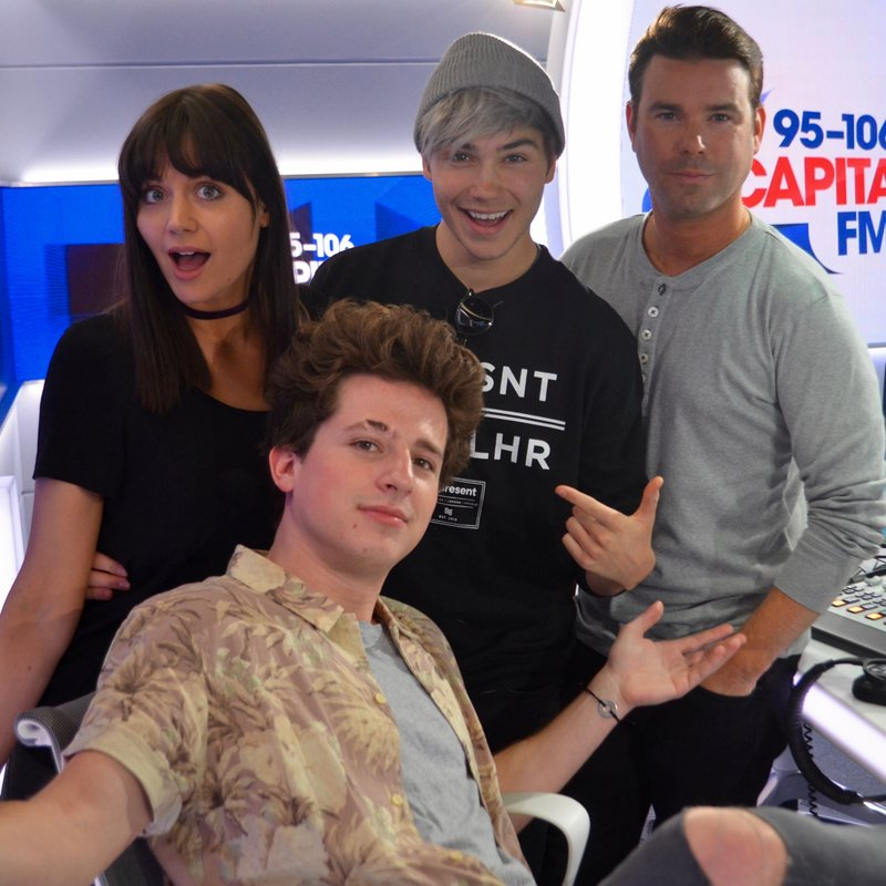 Charlie Puth, Dave Berry, George and Lilah