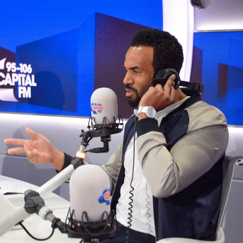 Craig David and George Shelley On Capital Breakfast