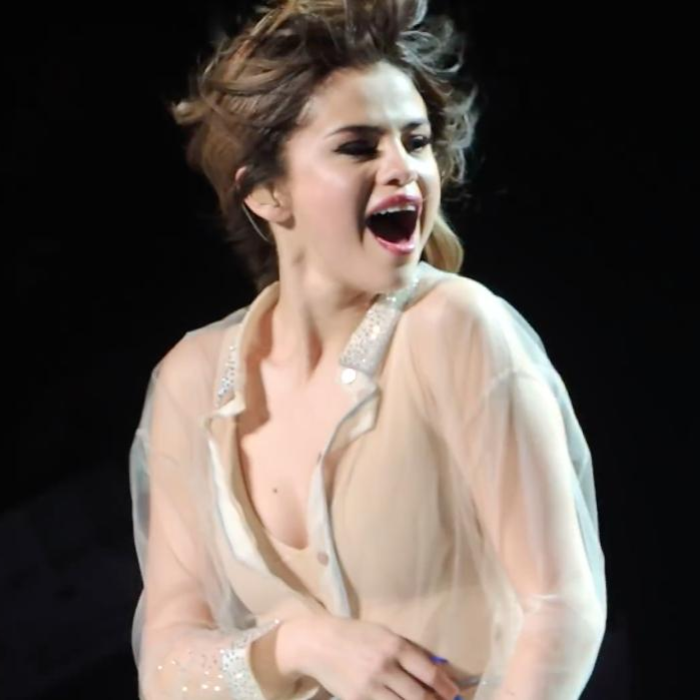 selena gomez reaction