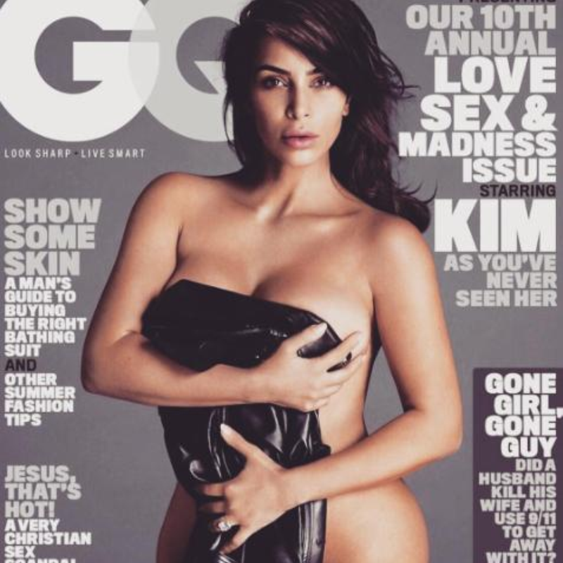 Kim Kardashian GQ Cover Shoot