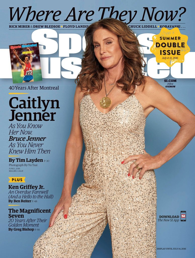 Caitlyn Jenner on the cover of Sports Illustrated July 2016