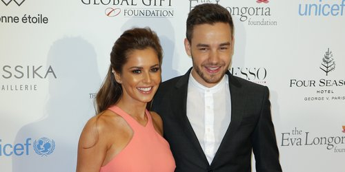 Liam Payne Cheryl red carpet debut