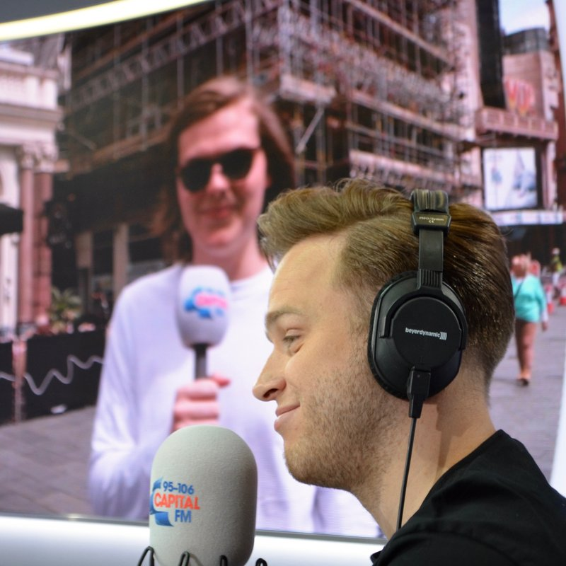 Olly Murs on Capital London Breakfast