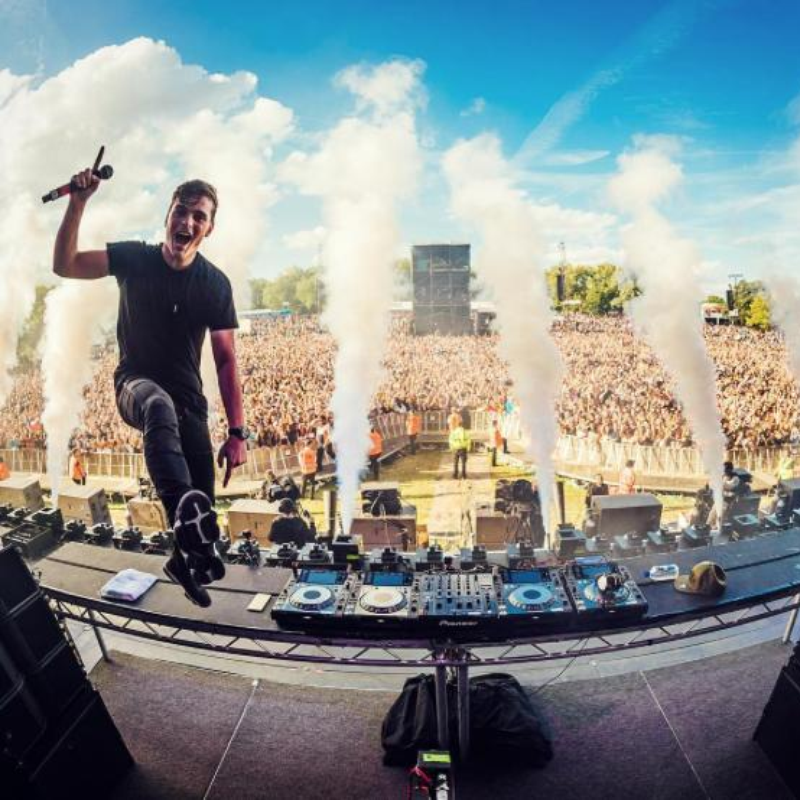 Re Live Last Year S Action From Martin Garrix S Multiply