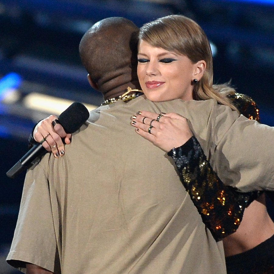 Kanye West Taylor Swift 2015 MTV Video Music Awards