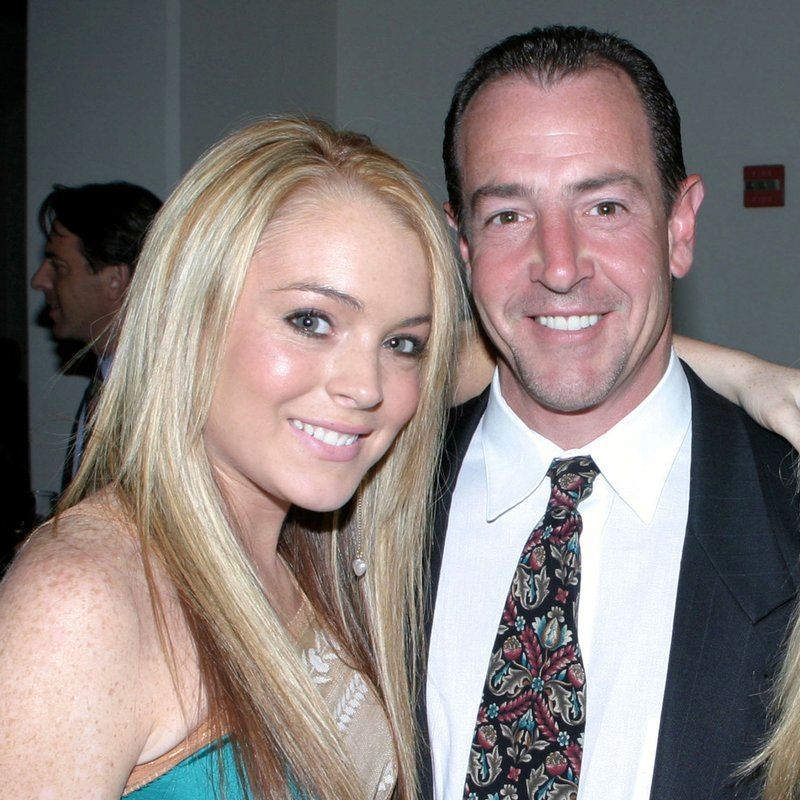 Lindsay Lohan & father Michael Lohan