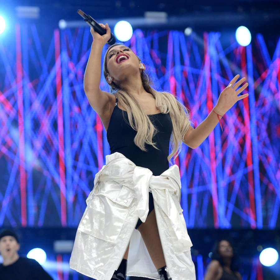 Ariana Grande performing at Capital FM's Summertim