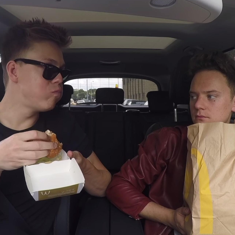 Caspar Lee and Conor Maynard Carpool Karaoke