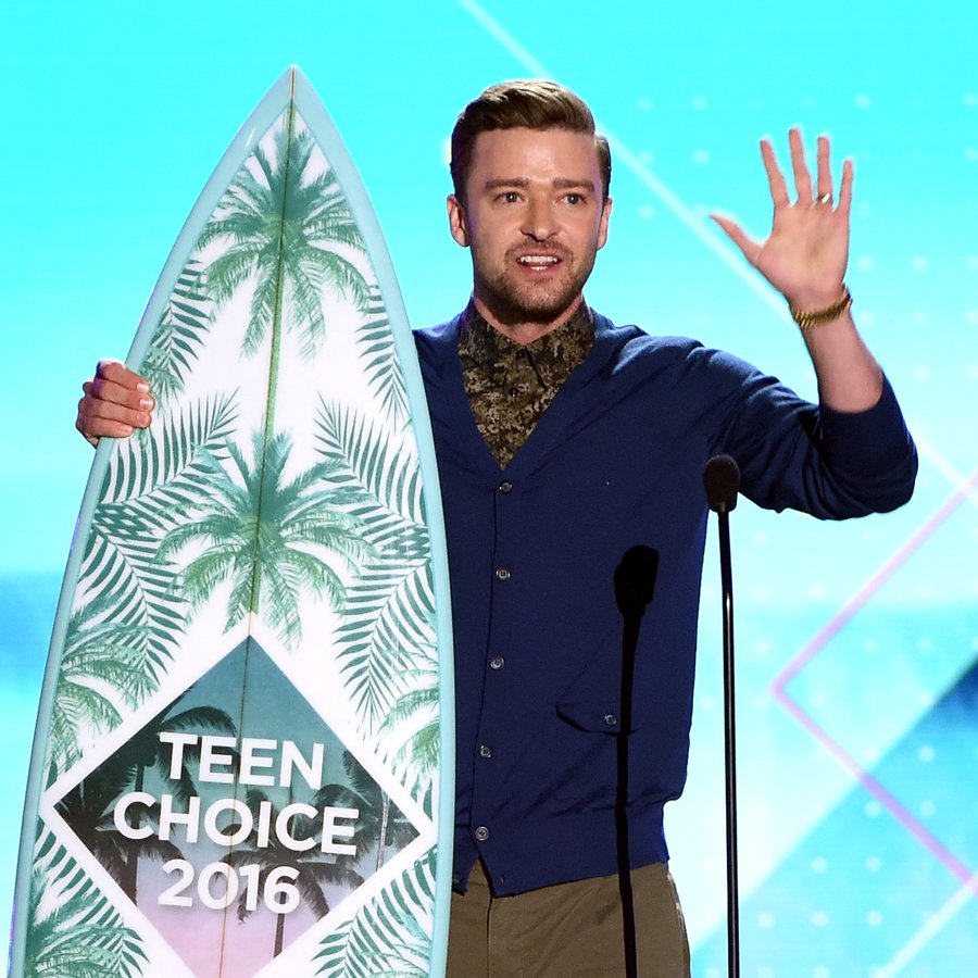 Justin Timberlake Teen Choice Awards 2016