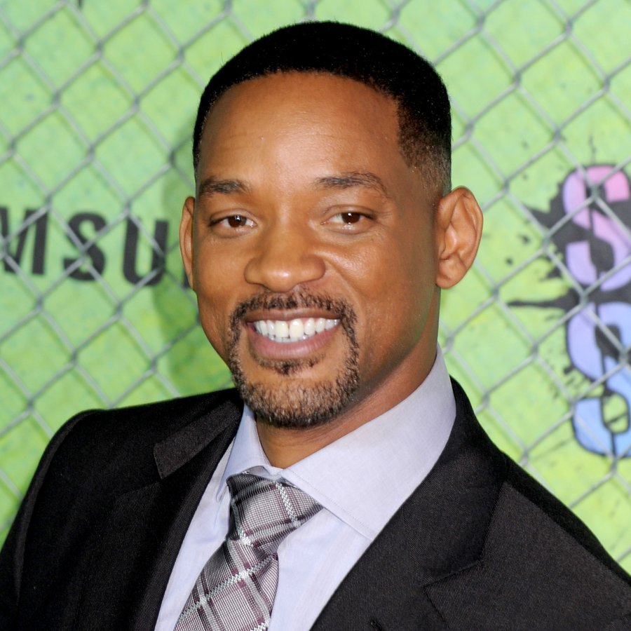 Will Smith attending the Suicide Squad world premiere at The Beacon Theatre