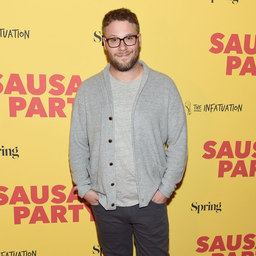 Seth Rogen 'Sausage Party' New York Premiere