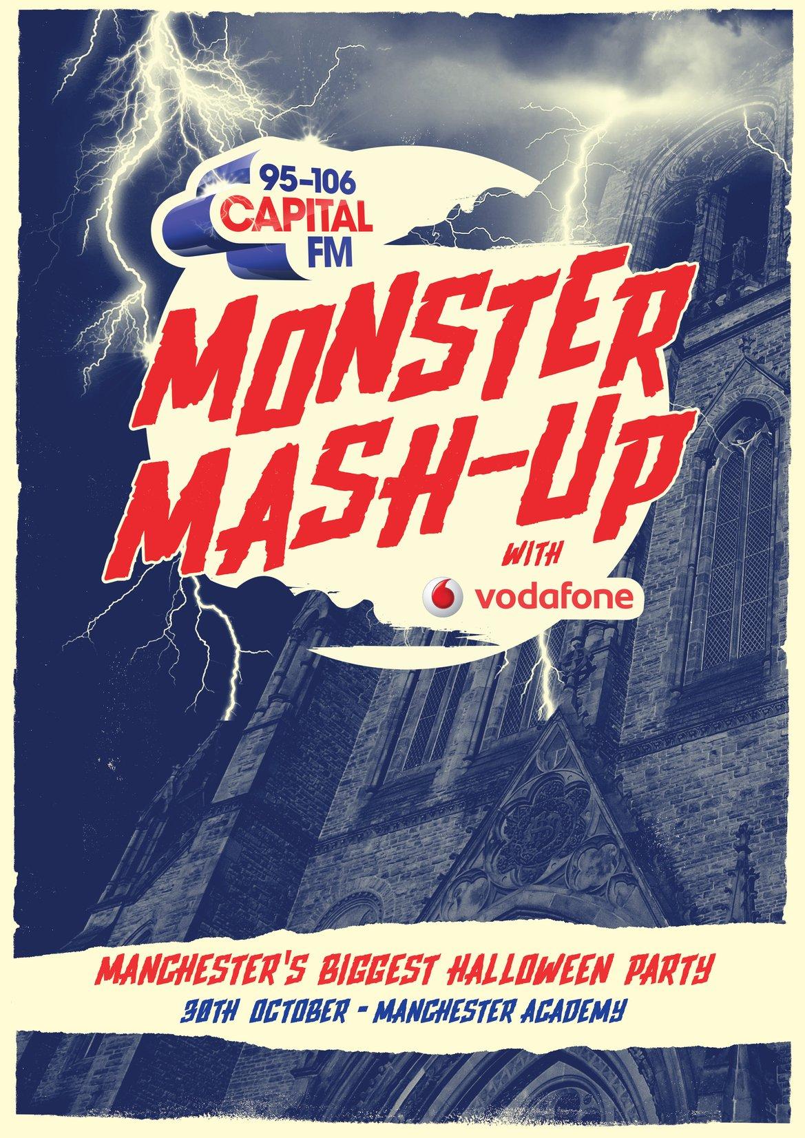 Capital's Monster Mash Up Manchester