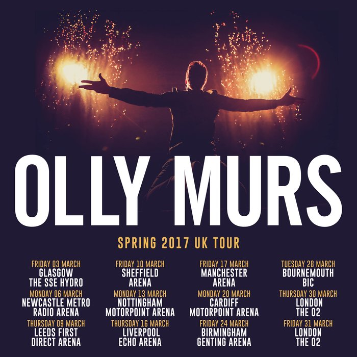 Image result for olly murs sse hydro glasgow 2016