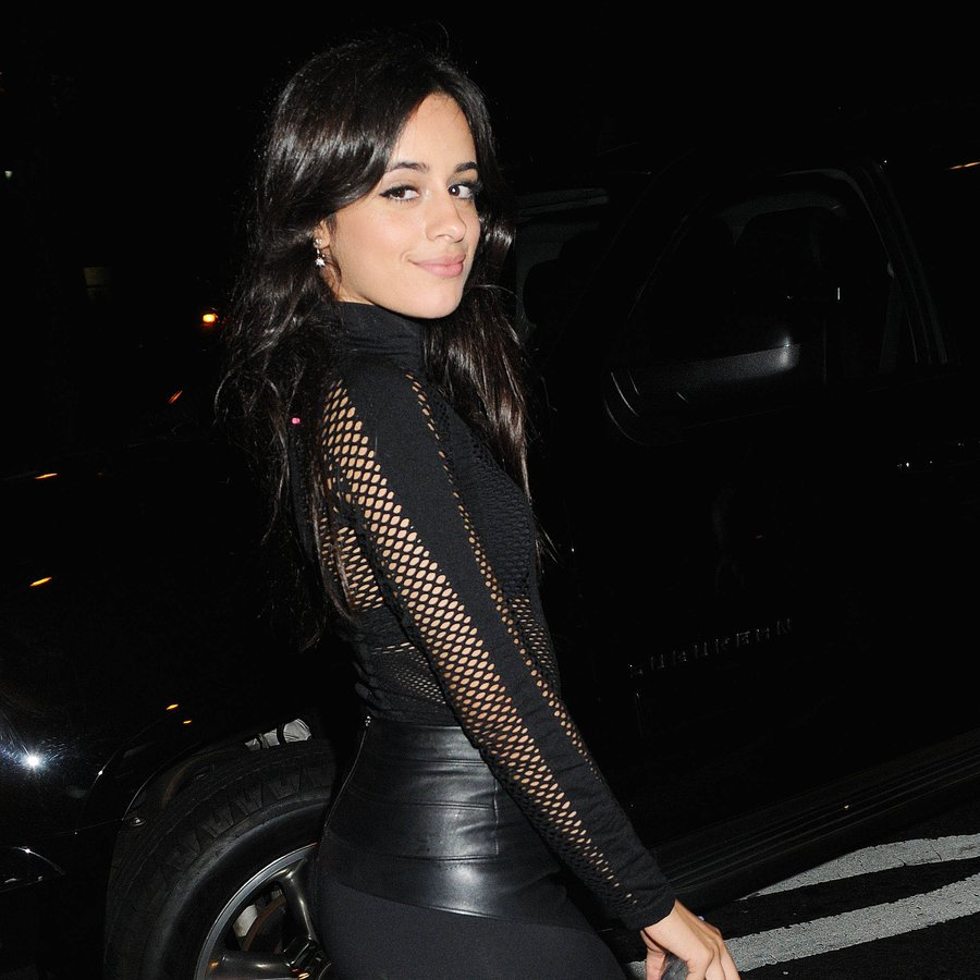 Camila Cabello is seen in New York City