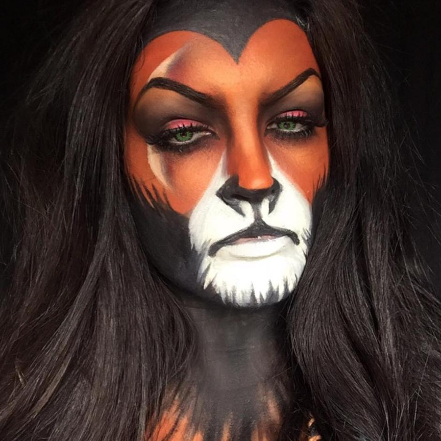 A Seriously Talented Make Up Artist Has Turned Herself - Movie Makeup