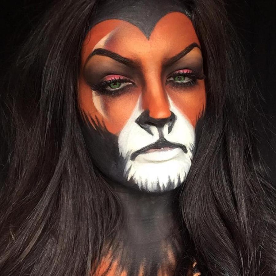 Lion King Halloween Make-Up