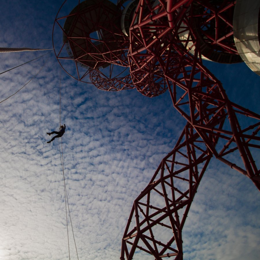 The ArcelorMittal Orbit at the Queen Elizabeth Olympic Park