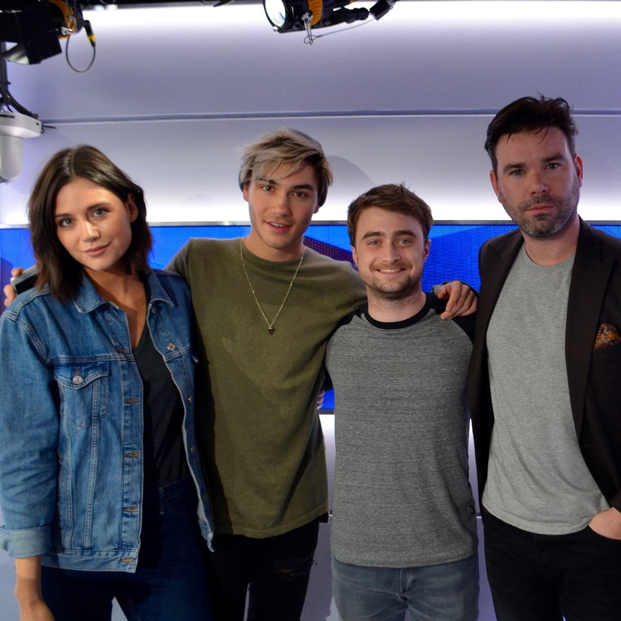 Daniel Radcliffe on Capital Breakfast with Dave Berry, George and Lilah