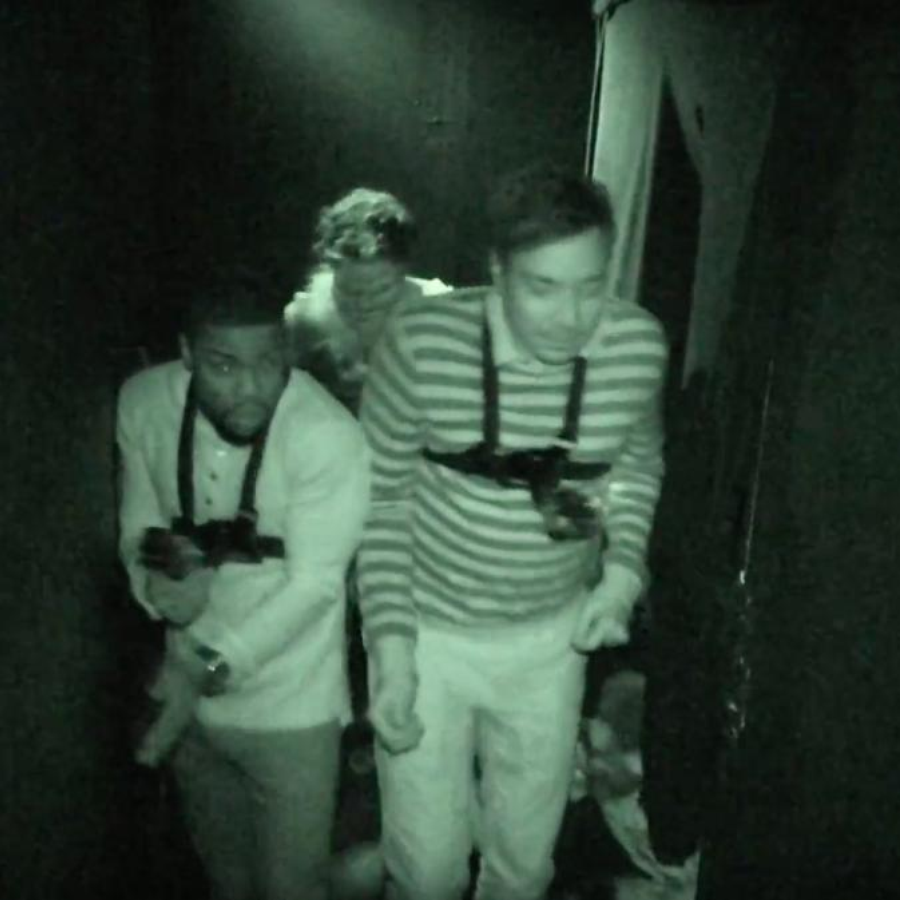 Kevin Hart and Jimmy Fallon couldn't handle this haunted house