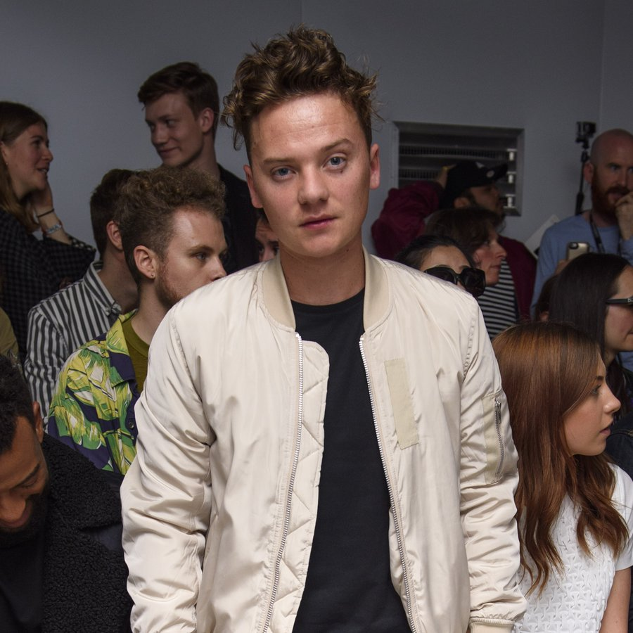 Conor Maynard XIMONLEE Catwalk - London Collections Men SS17
