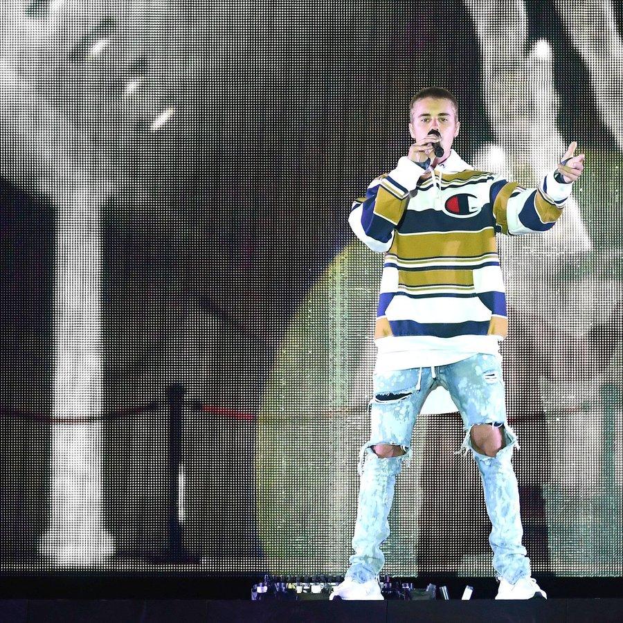 Justin Bieber V Festival 2016