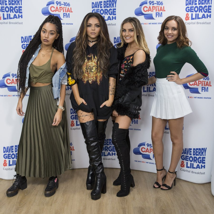Little Mix on Capital Breakfast with Dave Berry, George and Lilah