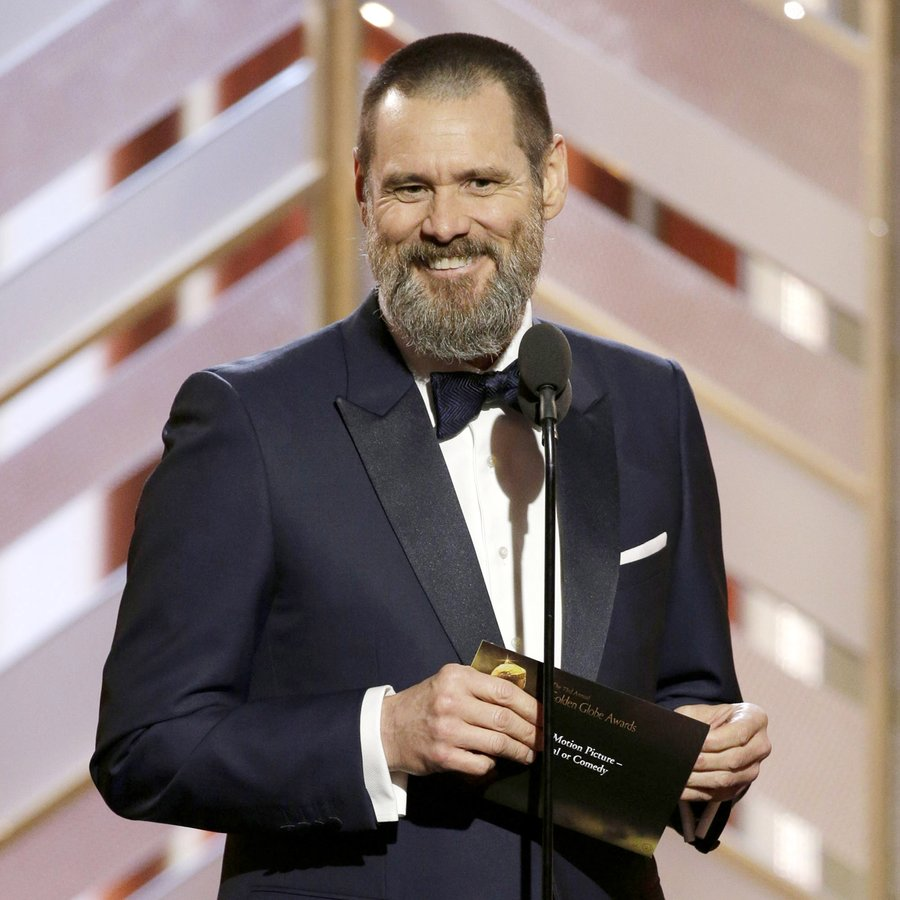 Jim Carrey NBC's '73rd Annual Golden Globe Awards'