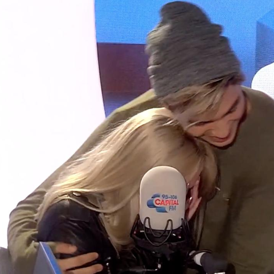 Zara Larsson and George Shelley on Capital Breakfast London