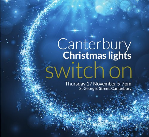 Canterbury Christmas Lights Switch-On 2016