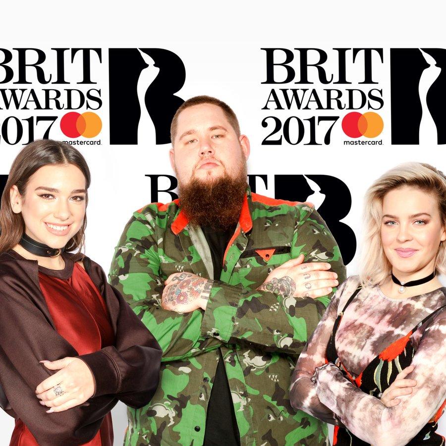 Brits Critics' Choice shortlist image Rag'n'Bone man, Ann-Marie, Dua Lipa