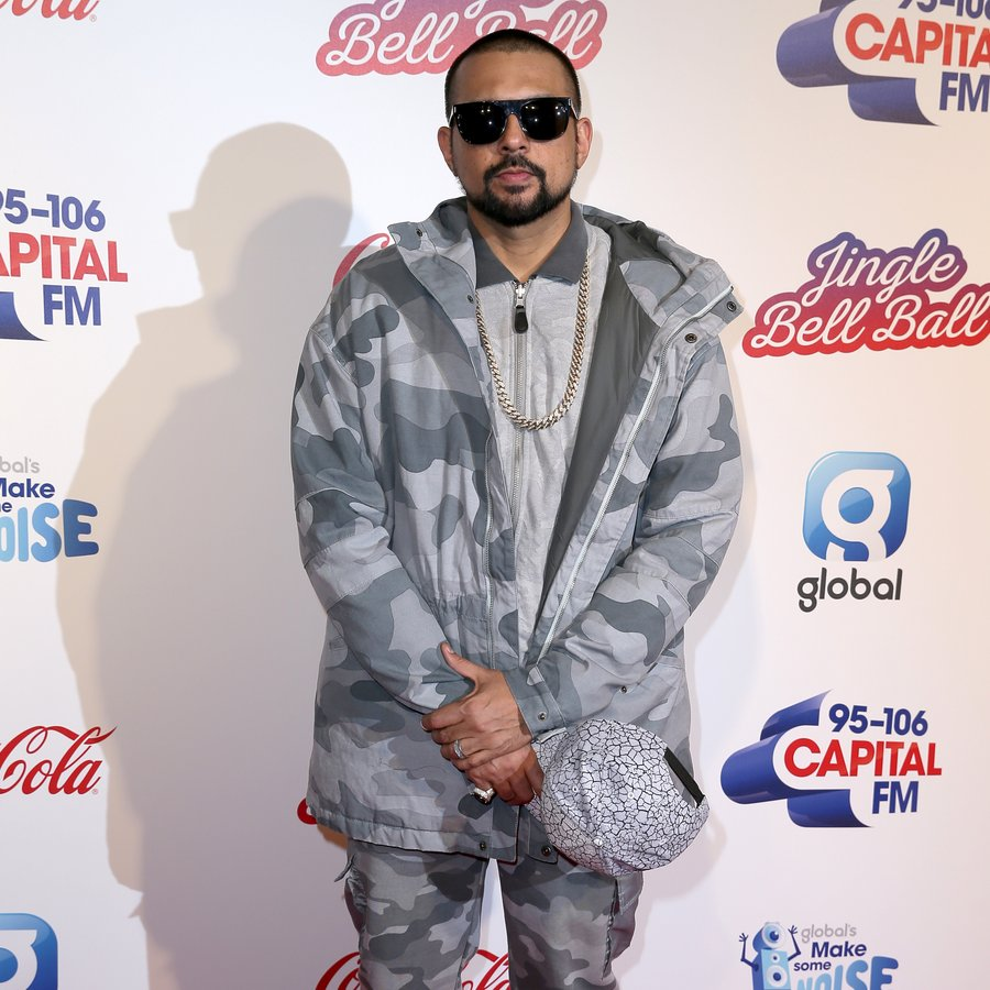 Sean Paul Jingle Bell Ball 2016 Red Carpet