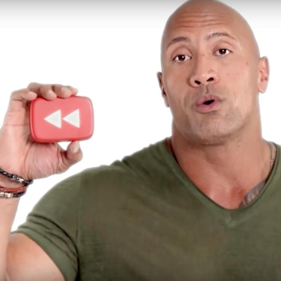 Dwayne Johnson #YouTubeRewind