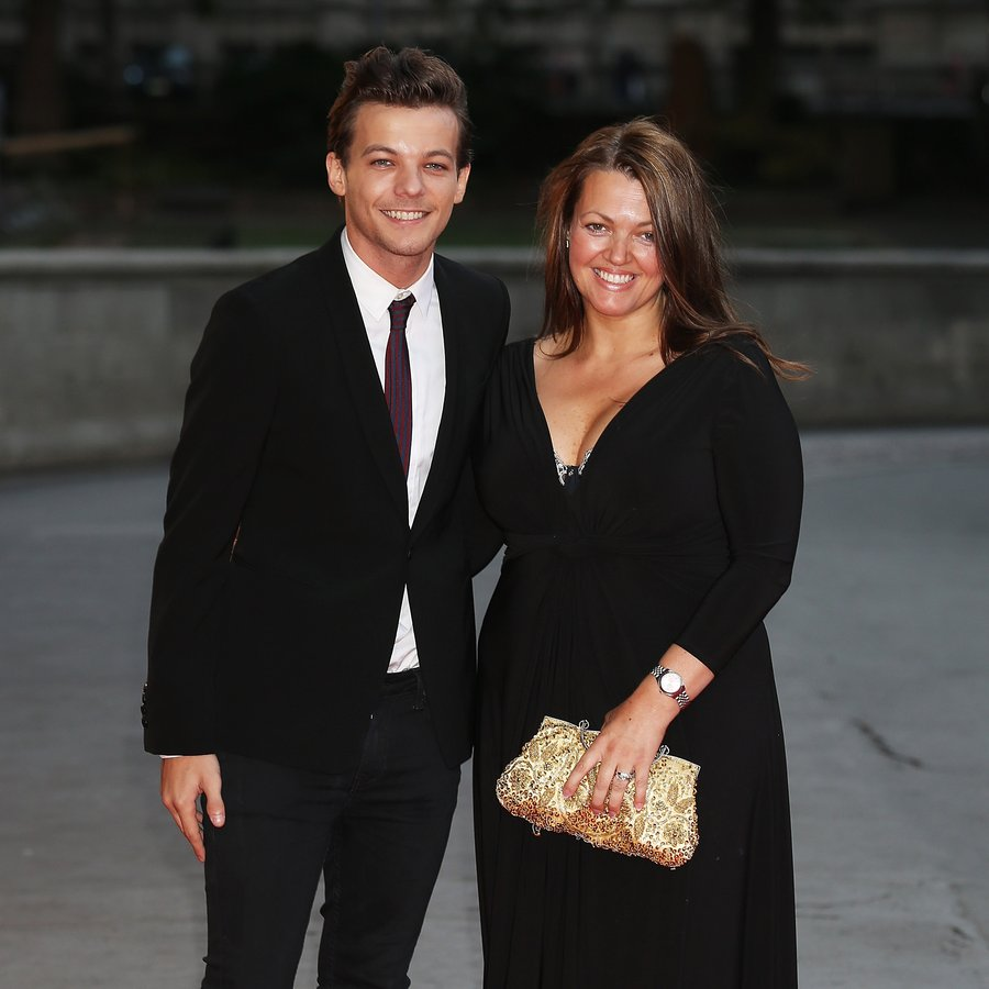 Louis Tomlinson and Mum, Johannah Deakin