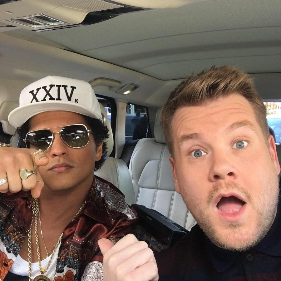 Bruno Mars James Corden Carpool Karaoke