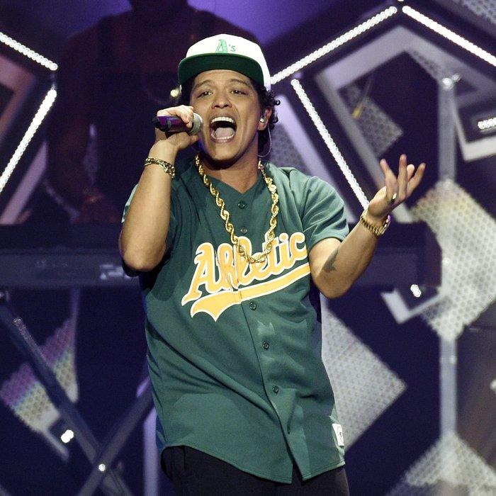 Bruno Mars live tour 2017