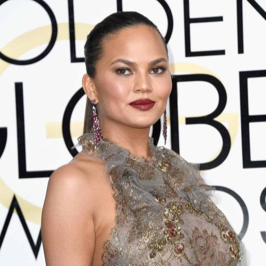 Chrissy Teigen 74th Annual Golden Globe Awards