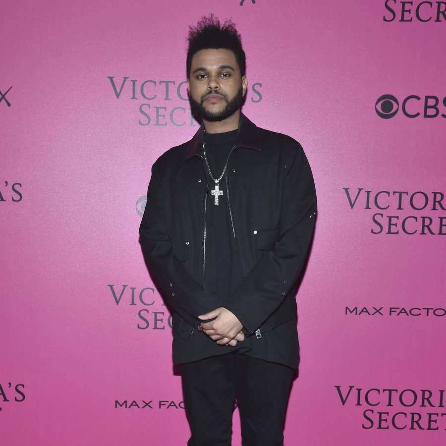 The Weeknd 2016 Victoria's Secret Fashion Show in Paris