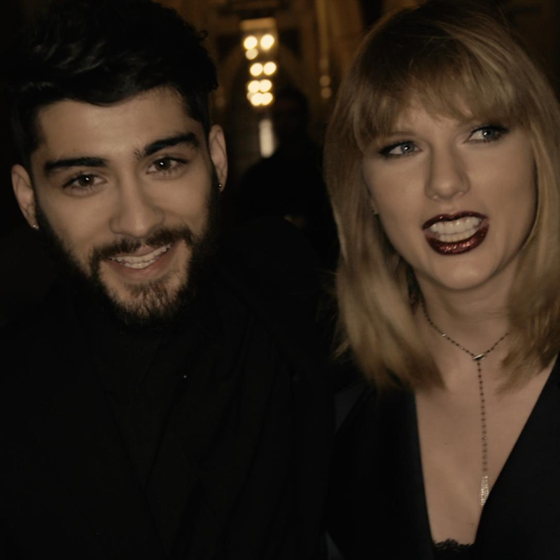 Taylor & Zayn's steamy new video