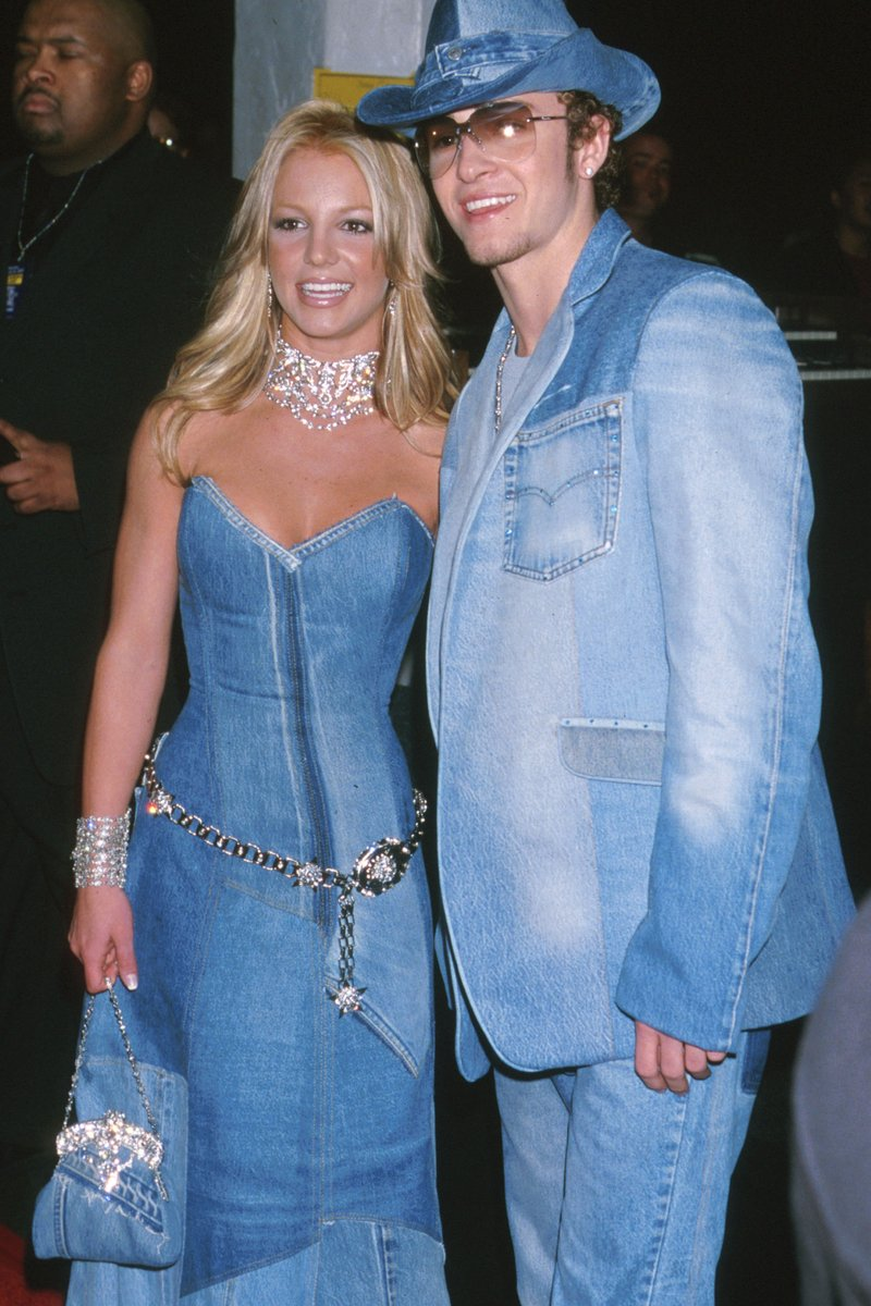 Britney Spears & Justin Timberlake in double denim
