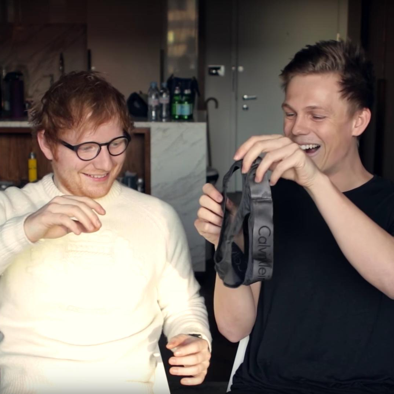 WATCH: Ed Sheeran Took On Caspar Lee's Brain Freeze ...